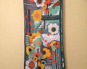 Vintage Italian foulard 1970's.