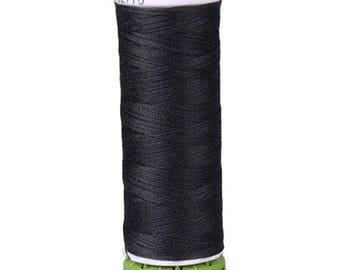 Black Gutermann Recycled Polyester Thread (GT000)