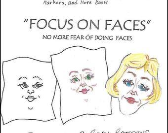 KK701E – Focus on Faces, PDF Tutorial Download - Doll Face Making