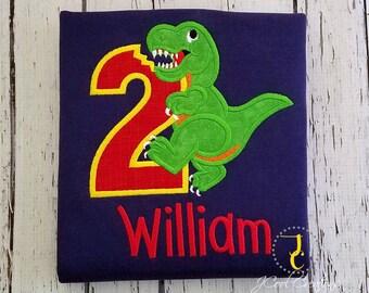 Dinosaur Birthday Shirt - Boys Birthday Shirt, T Rex Shirt, 1st Birthday, Baby Boy Birthday, Dino Birthday, Dinosaur Party, Dinosaur Shirt