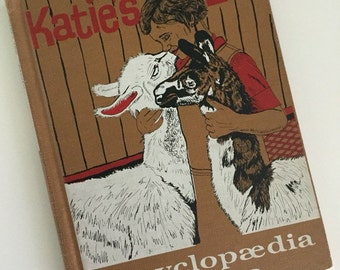 1964 Katie's Zoo by Jory Graham - Illustrated by David Cunningham - Encyclopaedia Britannica Press