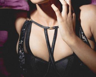 Bustier Bra - Push Up Bra Set with Panties