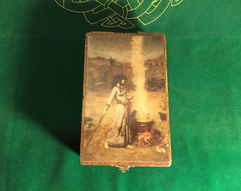 Fire and water tarot box