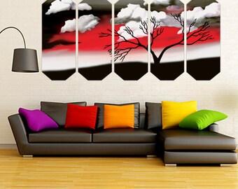 Asian Oriental Wall Art   Japanese Custom Wall Art Canvas   Nature Prints Wall  Art Canvas   Canvas Print   Free Shipping  Framed Canvas