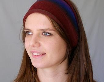 Bright Earth Hand Dyed Merino Headband