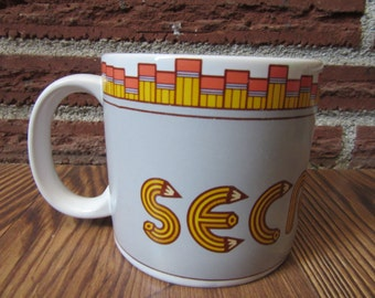 1980's Secretary Coffee Cup, Secretary Coffee Cup, Secretary Birthday Gifts, Secretary Gift Mug, Secretary, Office Secretary Cup