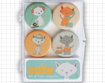 Cat Magnet Set