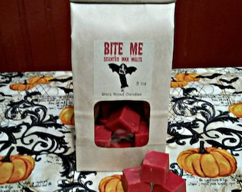Bite Me Scented Wax Melts //  3 or 6 oz. size