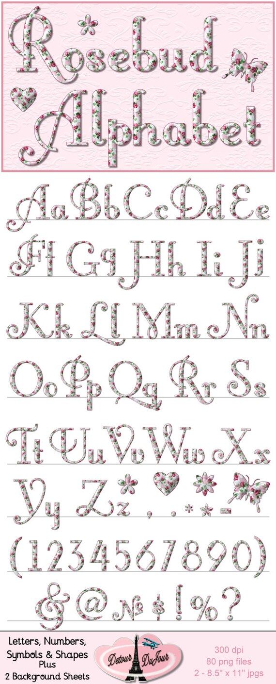 Alphabet clipart digital alphabet letters digital alphabet clipart alphabet clipart digital alphabet letters digital alphabet clipart digital fonts printable shabby chic alphabet letters floral rose from detourdujour on buycottarizona Gallery