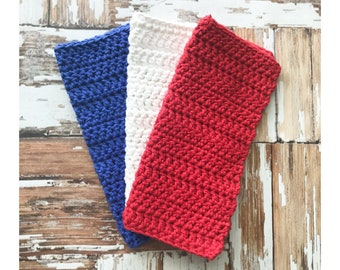 Cotton Crochet Washcloth, Cotton Crochet Dishcloth, Wash cloth, Dish cloth, Kitchen, Bathroom, Bath, Mix and Match, Custom, Soft Washcloth