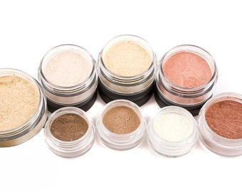 Mineral Makeup | 10pc TRY IT Kit | All Natural Makeup