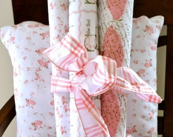 Gift Wrap 6 Foot Rolls, Shabby Chic design choices of wrapping papers