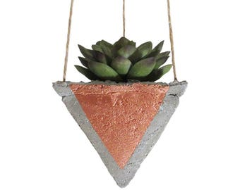 Air Planter, Hanging Planter, Concrete Planter, Succulent Planter, Mini Planter, Modern Planter, Geometric Planter, Indoor Planter, Bronze