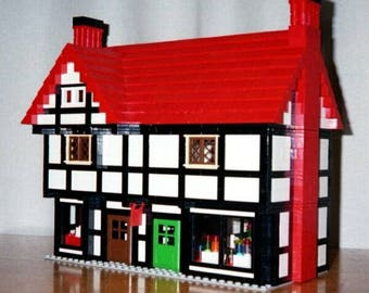 Tudor Shops building instructions - use your own LEGOs to build this custom model