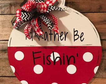 Fishing Bobber Door Hanger