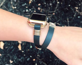 Leather Apple Watch Band, Apple Watch Strap, 38mm Apple Watch Band, 42mm Apple Watch Band,  Apple Watch Band, Women's Apple Watch Band
