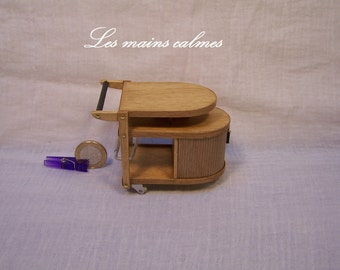 Rolling drinks cabinet Miniature 10eme and 12eme