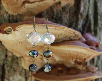 Moon Drop Earrings