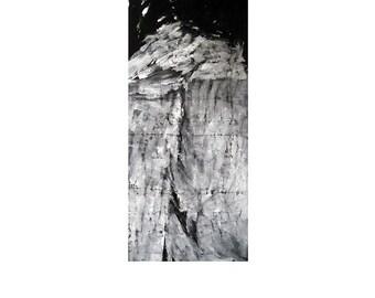Vous Etes Toujours Dans Votre Atelier A La Campagne by Amour - 2005 - Acrylic on Canvas - 270cm x 120cm - Collection The Seem