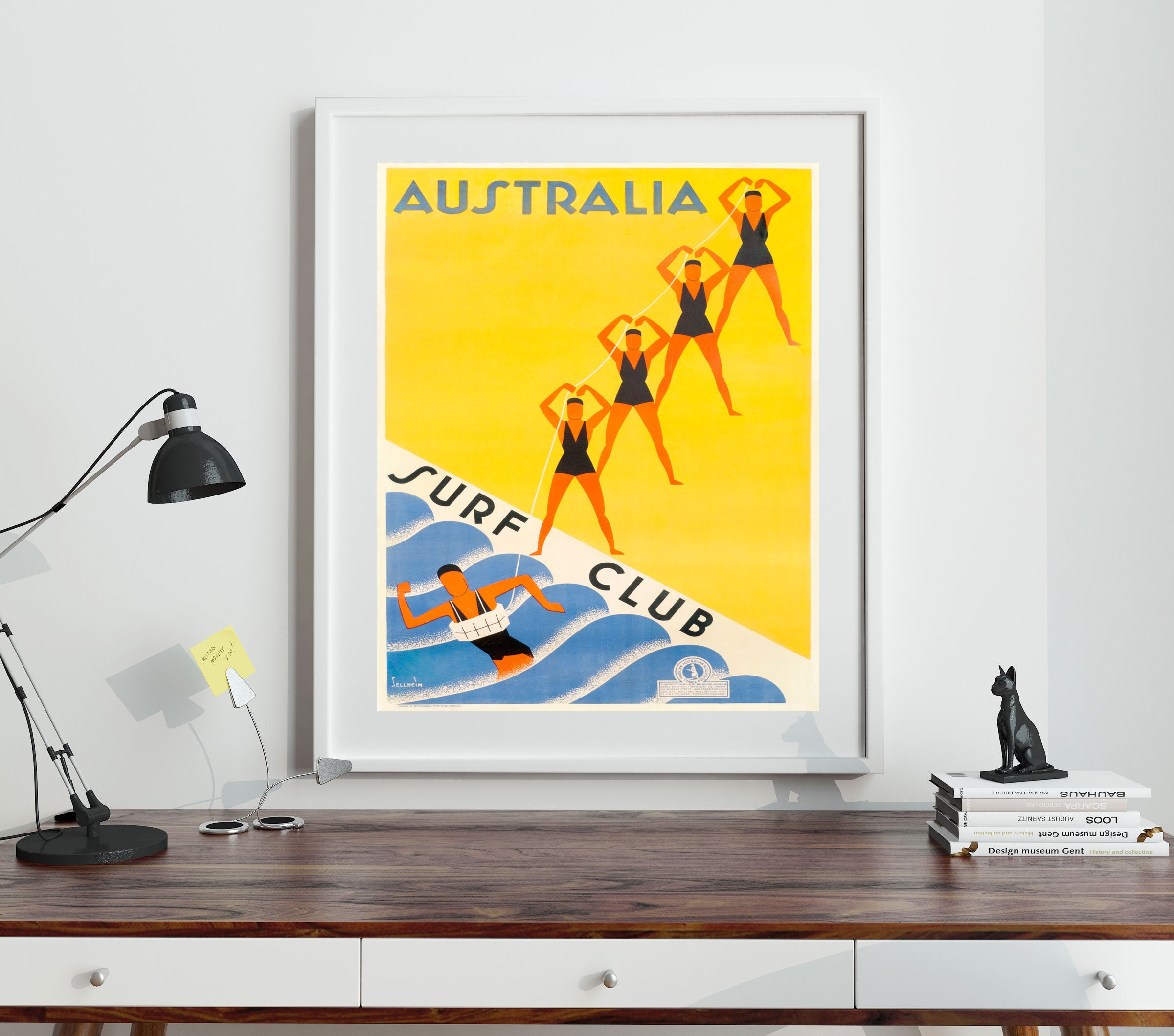 Set of Travel Posters Set of 4 Summer Themed Travel Prints Beach ...