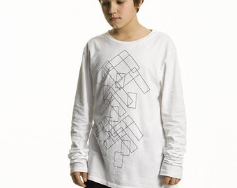 Grace Parkour | Moves Long Sleeve T-Shirt in White