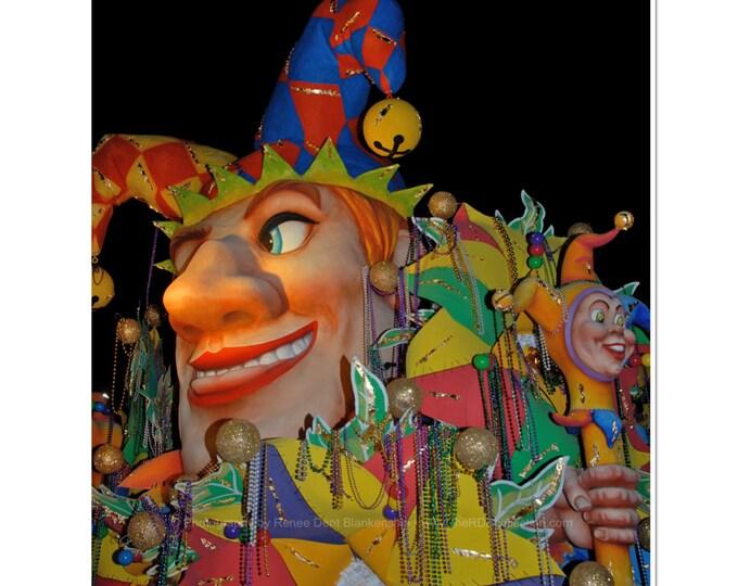 King's Court Jester Photograph - Mardi Gras