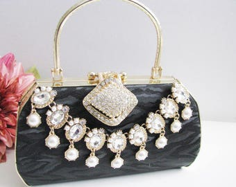 Glamour Bags and Purses, prom, bridal clutch, bridal evening bag, bridesmaid bag, wedding clutch, wedding clutch