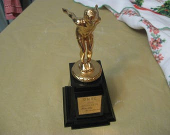 high aggregate 1964-1965 trophy from days gone by