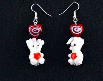 Some Bunny Love You Earrings