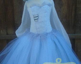 Corpse Bride Dress Etsy - Corpse Bride Inspired Wedding Dress