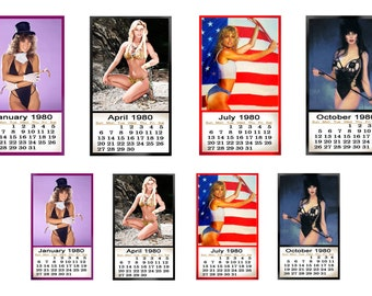 1:25 G scale model toy 1980 pin up calendar