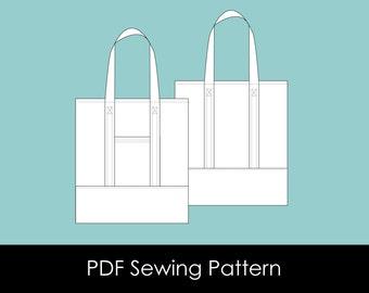 Wanderer Tote - PDF Sewing Pattern