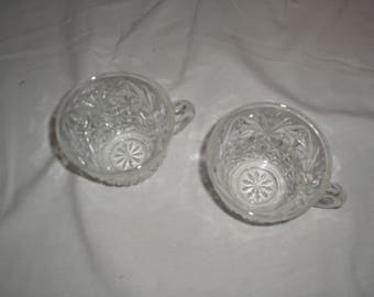 Anchor Hocking glass cups
