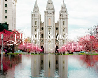 LDS Temple Physical Print | Multiple Sizes and Temples Available | FREE SHIPPING - U.S.A.