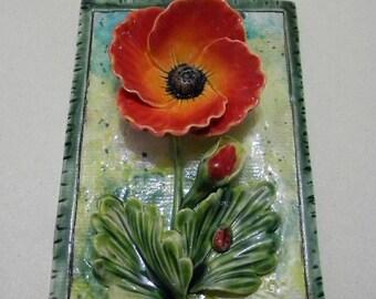 Beautiful ceramic decoration