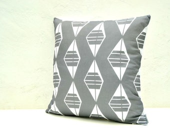 Boho grey pillow, Tribal pillow cover, Masculine pillow, Urban pillow cover, Home decor pillows, Nordic design, Modern simple decor, Linen