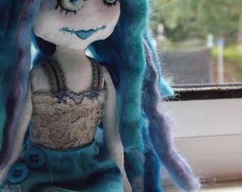 Custom Medium Doll - Custom Cloth Doll - Custom Rag Doll - Design A Doll - Made To Order - OOAK Doll - Gift