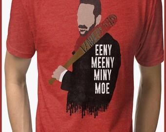 Eeny Meeny Miny Moe  Tri-blend T-Shirt