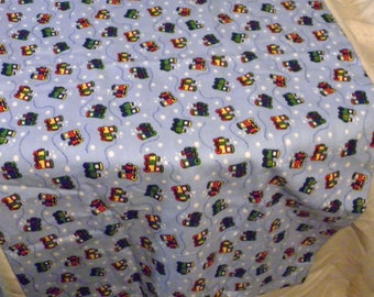 Train Pattern Baby Receiving Blanket