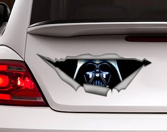 Darth Vader car decal, star wars decal, Darth Vader sticker, Vinyl decal, decor
