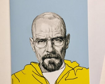 Illustrative A5 Card - Bryan Cranston