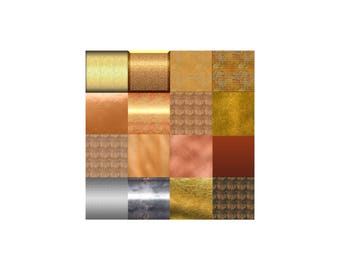 Metallic Scrapbook Paper Pack (3)