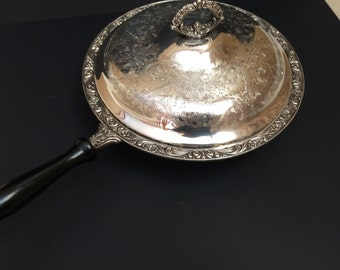Silverplate Serving Dish With Handle