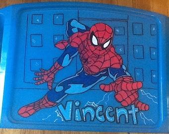 Spider-man activity tray, spider man tray, spider man tv tray, spider man game tray, spider man snack tray, spider man art tray, spider man