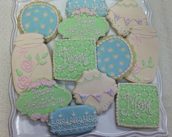 Mothers Day Sugar Cookies