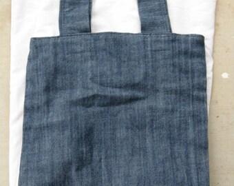 Demin Tote Bag