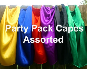 Childrens Superhero Capes Party Favors Kids Bulk Wholesale Cheap