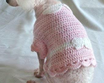 Crochet Pattern -  Crochet Pattern - dog sweater crochet pattern, dog shirt crochet pattern, dog clothing crochet pattern