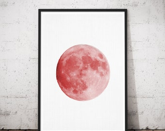 Nursery Woodlands, Apartment Wall Hook, Moon Nursery Poster, Modern Nordic Poster, Up Minimalist Poster, Minmal Wall Art, Mystery Art Poster