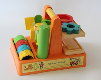 Fisher Price #787 Creative Clay Tool Set, 1982-1983, Vintage FP Toy, Made in U.S.A.